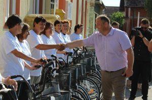 Potpisivanje ugovora o radu i podjela bicikala 4